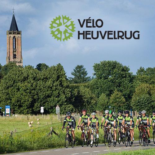 toertocht fietsen met velo