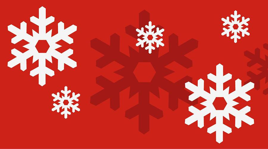 de proloog in kerst wintersferen