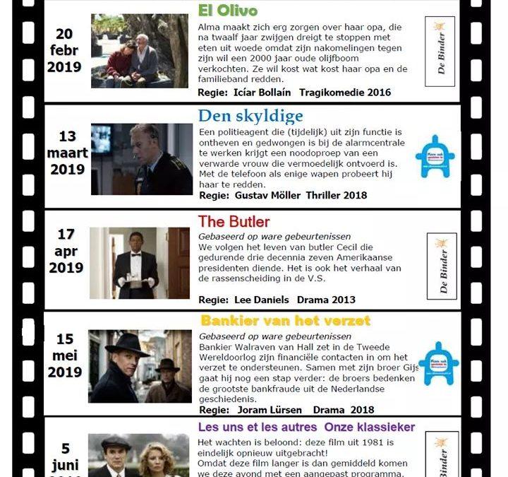 Filmladder P1 & 2 2019