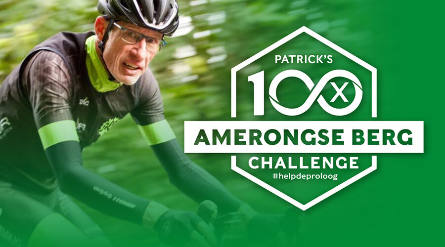 Patrick doneeractie challenge 100x amerongse berg
